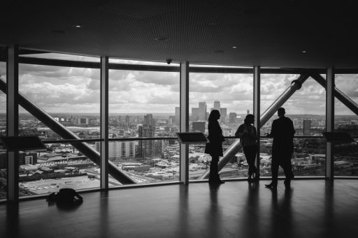 black-and-white-city-man-people-office